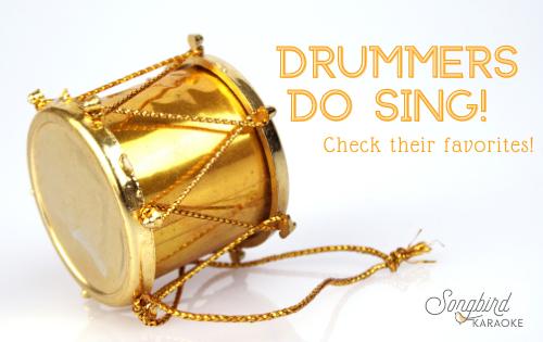 drummers sing