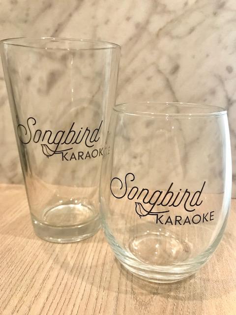 FREE Songbird Karaoke glass